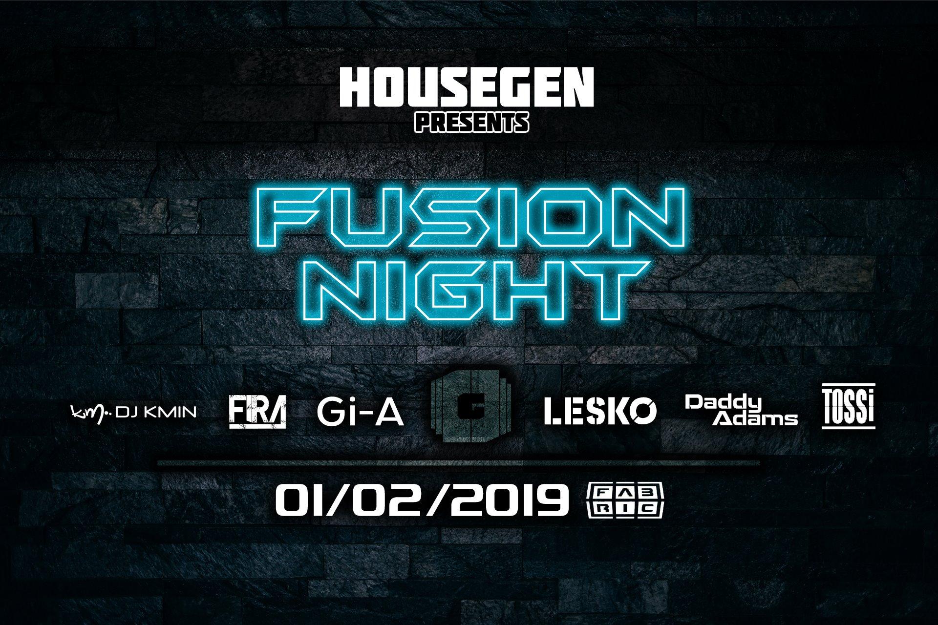 HouseGen: Fusion NIght